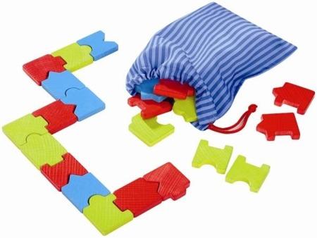 Taktyczne Domino - drewniane domino, układanka 27 el., 4 lata +, HABA