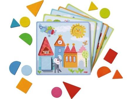 Gra Kształty - nauka kształtów i figur, HABA