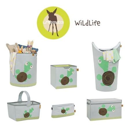 Kosz na zabawki lub pranie Wildlife Żółw, Lassig