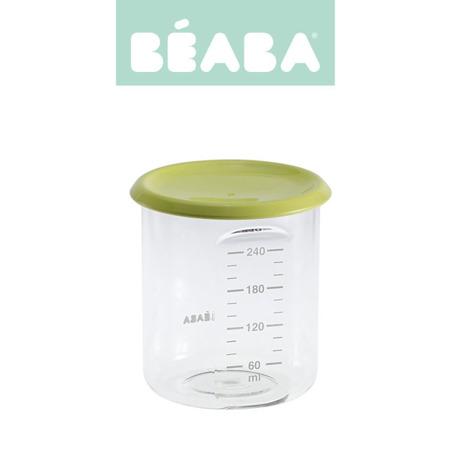 Beaba Słoiczek z hermetycznym zamknięciem 240 ml neon