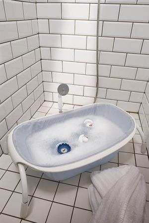 Cyfrowy termometr do kąpieli i pokoju dla dzieci i niemowląt, (np. do wanienki) Lotus grey/blue, BEABA