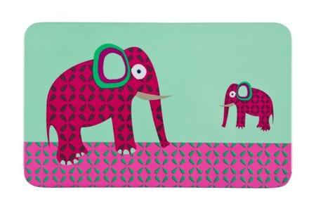 Deseczka śniadaniowa dla dzieci, tacka Wildlife Słoń, Lassig