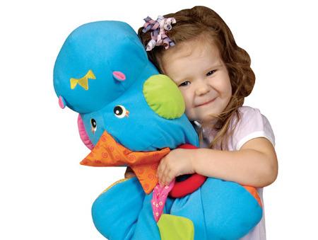 """Dinozaur z piłeczkami - suchy basen + mata edukacyjna, 60 piłeczek w zestawie """"Jestem Szefem"""", K's Kids"""