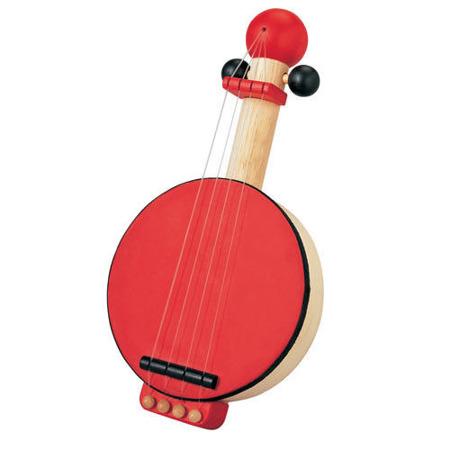Drewniane banjo dla dzieci, Plan Toys