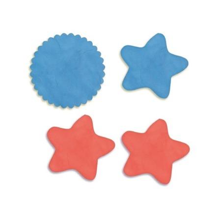 Dwustronne foremki do wycinania dla dzieci - do masy plastycznej, solnej, ciastoliny 8 szt. DJECO DJ09757