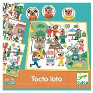 Eduludo TOCTO LOTO - gra na spostrzegawczość 3 lata +, DJECO