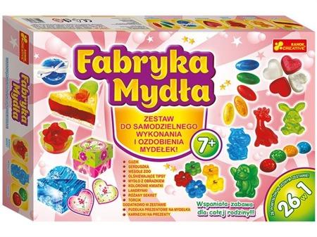 Fabryka mydła - wytwórnia mydełek dla dzieci, DIY 7 lat +, Ranok-Creative