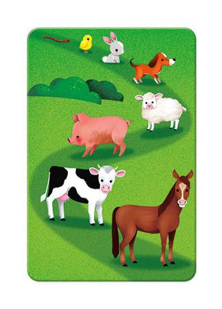 Gra strategiczna Wyścig na farmie, 4 lata +, JANOD