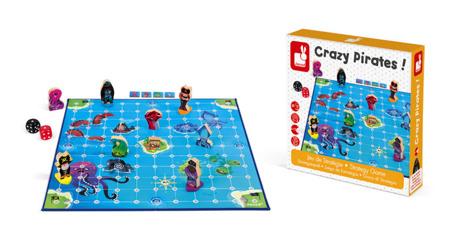 Gra strategiczna Zwariowani piraci - 6 lat +, Janod