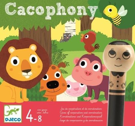 Gra współpraca - CACOPHONY 4 lata +, DJECO