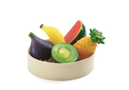 Gumowe egzotyczne owoce dla dzieci do odgrywania ról, sprzedawania DJECO DJ06607