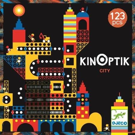"""Kinoptik MIASTO - magnetyczna układanka z iluzjami optycznymi """"ombro cinema"""" DJECO DJ05610 N"""