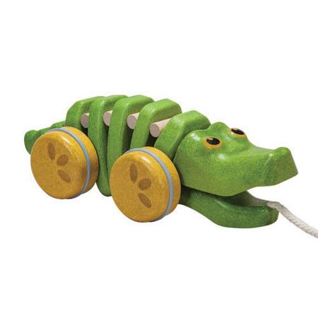 Krokodyl do ciągnięcia, PLAN TOYS