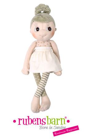 Lalka Eco Buds Iris - ręcznie robiona laleczka z bawełnyorganicznej ok. 35cm, Rubens Barn