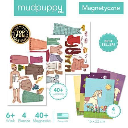 Magnetyczne postacie Księżniczki 6+ - układanka magnesy, Mudpuppy
