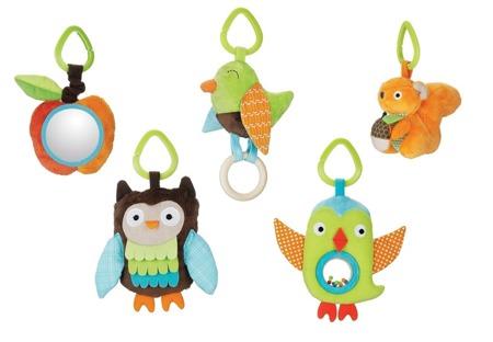 Mata edukacyjna Treetop - mata dla niemowląt, 17 wariantów zabawy, SKIP HOP