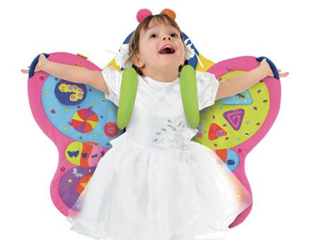 Mata edukacyjna motyl - mata czas dla brzuszka, K's Kids