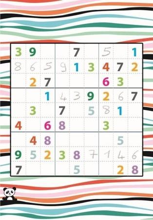 Mini gra logiczna SUDOKU dla dzieci - seria podróżnicza / kieszonkowa MINI LOGIX DJECO, DJ05350