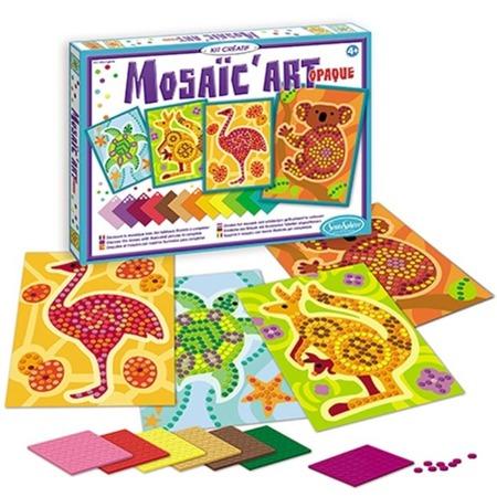 Mozaika piankowa Australia -  mozaika do wyklejania dla dzieci, samoprzylepna, SENTOSPHERE