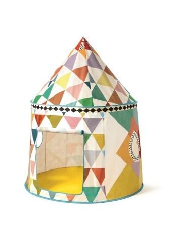 Namiot do pokoju dziecka 106 x 140 cm - jak tipi, namiot cyrkowy, DJECO DD04490 N