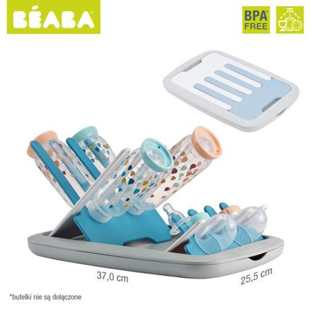 Składana suszarka do butelek i smoczków - ociekacz do akcesoriów niemowlęcych blue, Beaba