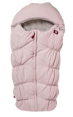 Śpiwór zimowy wodoodporny z kapturem do wózka 6-24m Footmuff Soft Pink Red Castle