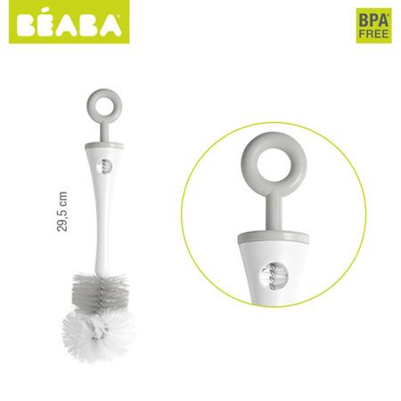 Szczoteczka do czyszczenia butelek i smoczków grey, BEABA