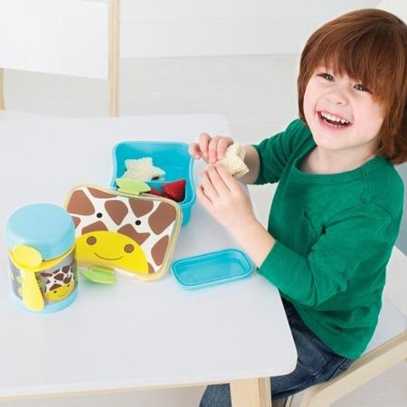 Termos na jedzenie dla dzieci - pojemnik termiczny trzymający ciepło i zimno, Zoo Żyrafa, SKIP HOP