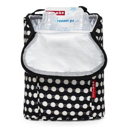 Termotorba na butelki do mleka, na butelki z piciem dla dziecka - pokrowiec Connect Dots, SKIP HOP