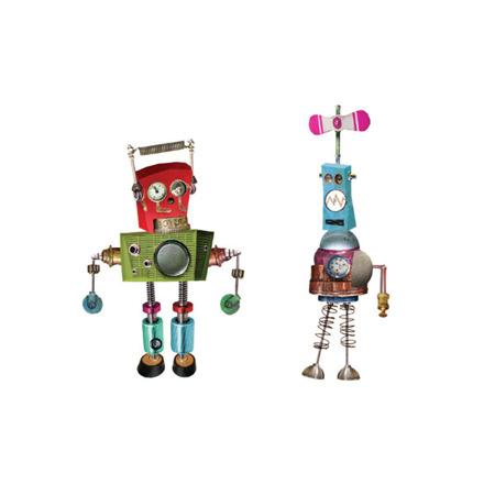 Układanka magnetyczna roboty - magnetyczne konstrukcje do układania 6 lat +, Mudpuppy MP21397
