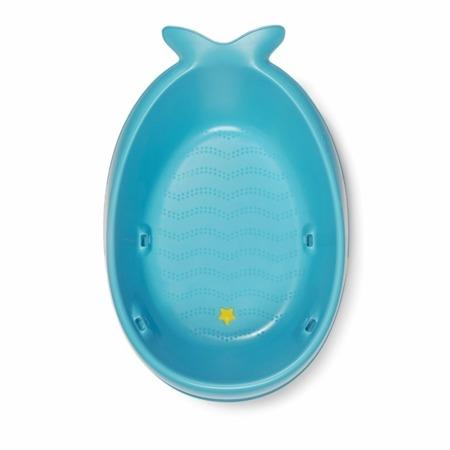 Wanienka do kąpieli dla noworodka i niemowlaka - wanienka + akcesoria Wieloryb MOBY, SKIP HOP
