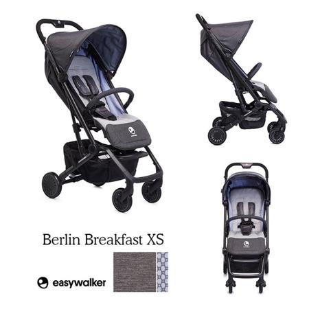 Wózek spacerowy 6 kg, kompaktowy + osłonka, Berlin Breakfast, Easywalker Buggy XS