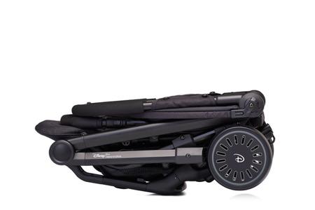 Wózek spacerowy 6 kg, kompaktowy + osłonka Mickey Diamond, Disney by Easywalker Buggy XS