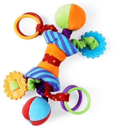 Zabawka dla malucha Ziggles - do wózka, fotelika, Manhattan Toy