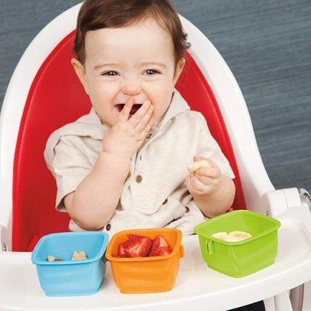 Zestaw pojemników do jedzenia dla dzieci w termicznej torbie z wkładem - Bento Lunch Set, SKIP HOP